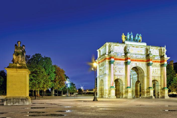 Der Arc de Triumph Bukarest - Rumänien