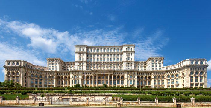 Parlamentspalast Bukarest - Rumänien